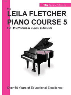 Leila Fletcher Piano Course, Book 5 - Canada