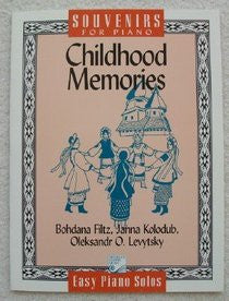 Souvenirs for Piano: Childhood Memories (Easy Piano)