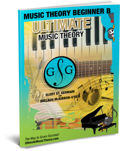 Ultimate Music Theory - Theory For Beginners B Workbook
