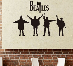 The Beatles Wall Sticker - Canada