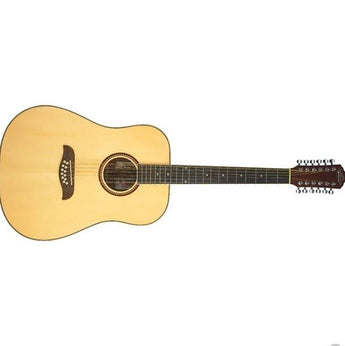 Oscar Schmidt OD312 Natural 12-String Dreadnought Guitar- Natural