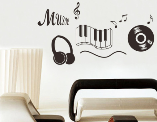 Instruments Wall Sticker - Canada