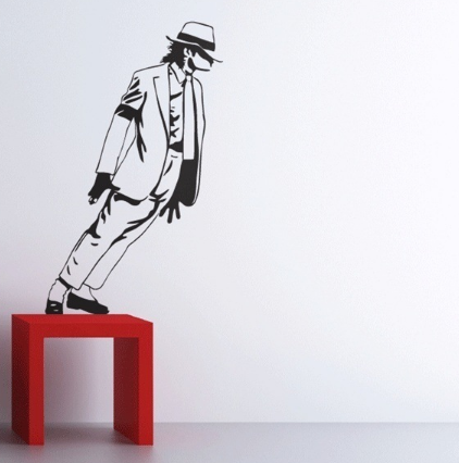 Michael Jackson King of Pop Wall Sticker - Canada