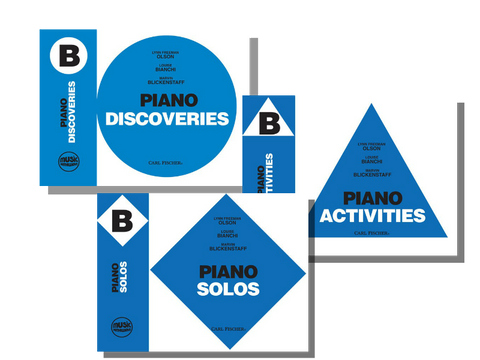 Music Pathways Level B Set (Solos, Discoveries, Activities)