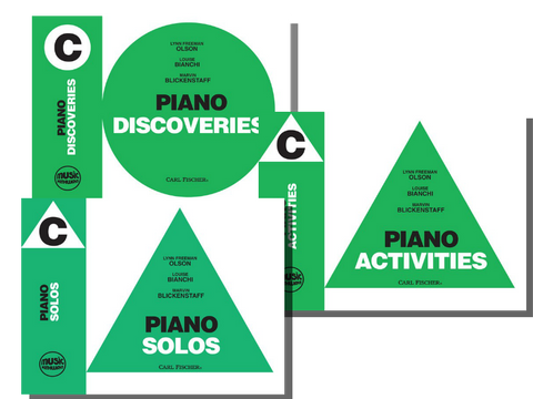 Music Pathways Level C Set (Solos, Discoveries, Activities)
