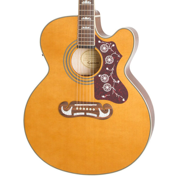 Epiphone EJ-200SCE Acoustic/Electric in Vintage Natural