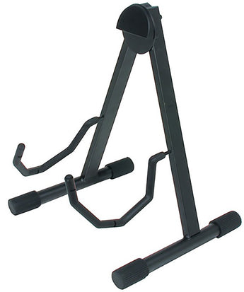 "Quiklok GS438 Quiklok Low ""A"" Frame Universal Acoustic/Electric Guitar Stand"
