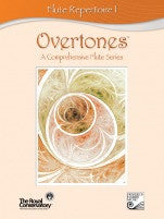 RCM Overtones Series - Flute Repertoire (w/CD), Level 1 - Canada