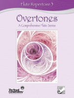 RCM Overtones Series - Flute Repertoire (w/CD), Level 3 - Canada