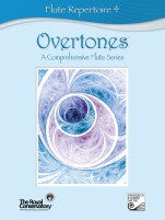 RCM Overtones Series - Flute Repertoire (w/CD), Level 4 - Canada