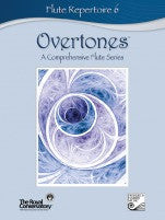 RCM Overtones Series - Flute Repertoire (w/CD), Level 6 - Canada
