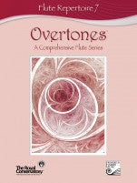 RCM Overtones Series - Flute Repertoire (w/CD), Level 7 - Canada