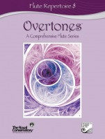 RCM Overtones Series - Flute Repertoire (w/CD), Level 8 - Canada