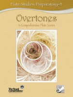 RCM Overtones Series - Flute Studies (w/CD), Preparatory-4 - Canada