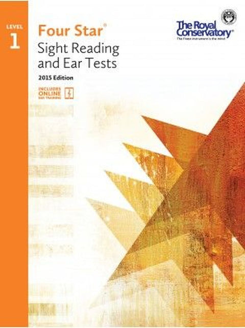RCM Four Star Sight Reading & Ear Tests - Level 1