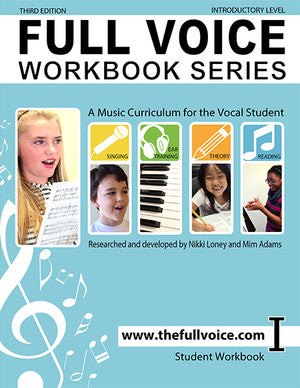 Full Voice - Workbook Series, 3rd Edition - Introductory Level - Canada