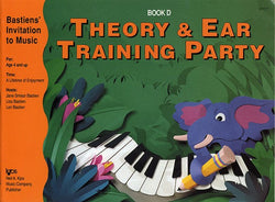Bastiens' Invitation to Music - Theory & Ear Training Party Book D - Canada