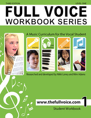 Full Voice - Workbook Series, 3rd Edition - Level One - Canada