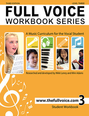 Full Voice - Workbook Series, 3rd Edition - Level Three - Canada