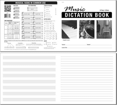 Granata Music Dictation Book