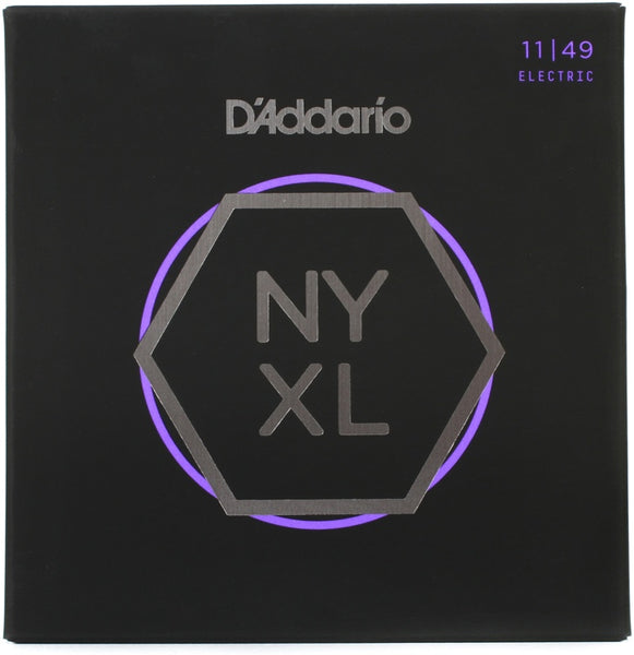 D'Addario NYXL 1149 Nickel Wound Electric Guitar Strings, Medium 11-49