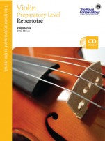 RCM Violin - Repertoire (w/CD), Preparatory - Canada