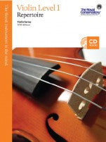 RCM Violin - Repertoire (w/CD), Level 1 - Canada