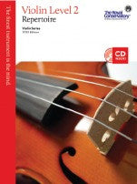 RCM Violin - Repertoire (w/CD), Level 2 - Canada