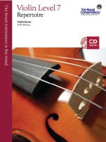 RCM Violin - Repertoire (w/CD), Level 7 - Canada
