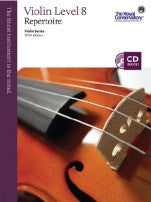 RCM Violin - Repertoire (w/CD), Level 8 - Canada