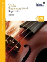 RCM Viola - Repertoire (w/CD), Preparatory - Canada