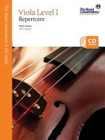 RCM Viola - Repertoire (w/CD), Level 1 - Canada