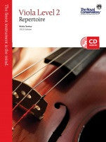 RCM Viola - Repertoire (w/CD), Level 2 - Canada