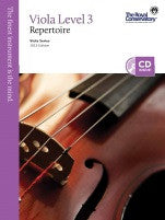 RCM Viola - Repertoire (w/CD), Level 3 - Canada