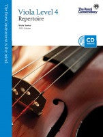 RCM Viola - Repertoire (w/CD), Level 4 - Canada
