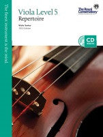 RCM Viola - Repertoire (w/CD), Level 5 - Canada