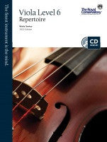 RCM Viola - Repertoire (w/CD), Level 6 - Canada