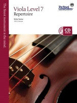 RCM Viola - Repertoire (w/CD), Level 7 - Canada