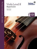 RCM Viola - Repertoire (w/CD), Level 8 - Canada