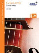 RCM Cello - Repertoire (w/CD), Level 1 - Canada