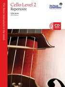 RCM Cello - Repertoire (w/CD), Level 2 - Canada