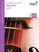 RCM Cello - Repertoire (w/CD), Level 3 - Canada