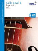 RCM Cello - Repertoire (w/CD), Level 4 - Canada