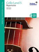 RCM Cello - Repertoire (w/CD), Level 5 - Canada