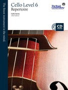 RCM Cello - Repertoire (w/CD), Level 6 - Canada