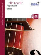 RCM Cello - Repertoire (w/CD), Level 7 - Canada