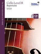 RCM Cello - Repertoire (w/CD), Level 8 - Canada