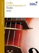 RCM Cello - Etudes, Levels Preparatory-4 - Canada
