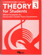 Conservatory Canada - Theory for Studends, Book 3 - Canada
