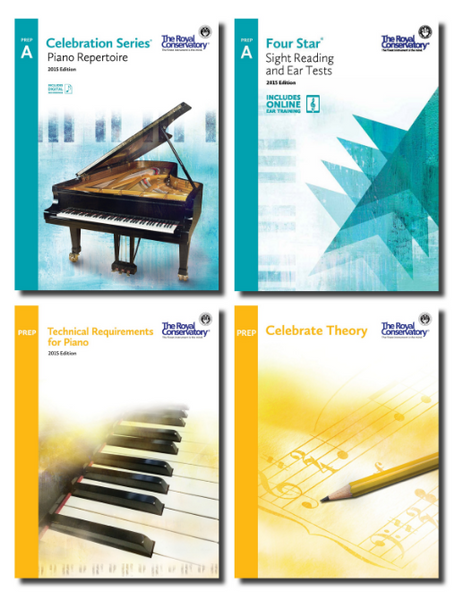 RCM Celebration Series Bundle Preparatory A Level